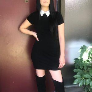 Dresses & Skirts - Black collar dress